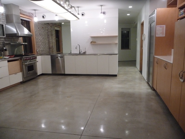 Delightful Poured Concrete Kitchen Floor #6: Poured Concrete Kitchen Floor Zitzat